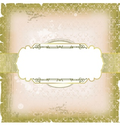template frame vector image vector image