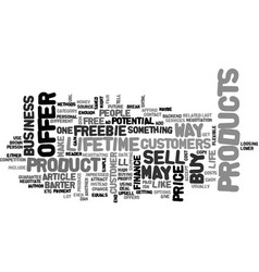 A customer for life text word cloud concept vector