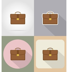 business and finance flat icons 16 vector image vector image