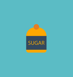 Flat icon sugar element of vector