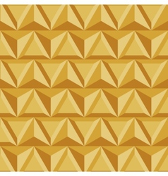 modern geometric triangle gold background vector image