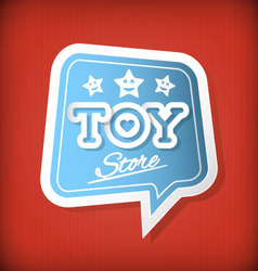 Toy Store vector image