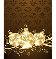 beautiful christmas background - vector image vector image