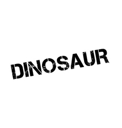 Dinosaur rubber stamp vector