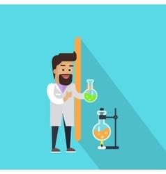 Science Alphabet Letter - I vector image