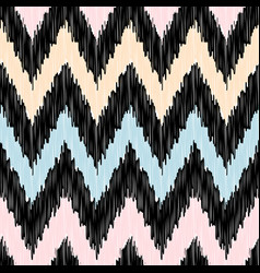 seamless modern zigzag background pattern vector image