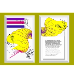 Abstract template4 vector