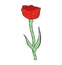 comic cartoon poppy vector image