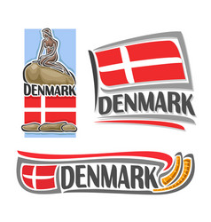 Logo for denmark vector
