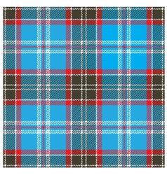 Seamless Blue Tartan Pattern Design vector image vector image