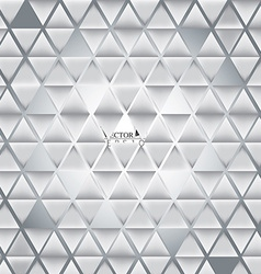Abstract 3D triangle background patterns vector image vector image