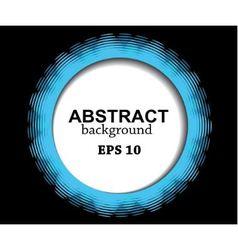 Abstract blue circle vector