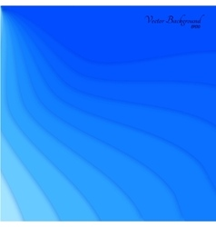 Abstract blue wave background design vector