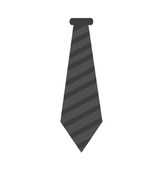 Isolated hipster necktie design vector