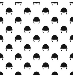 Military helmet pattern simple style vector