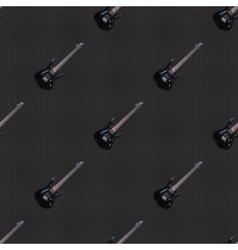 Seamless pattern guitars vector image vector image