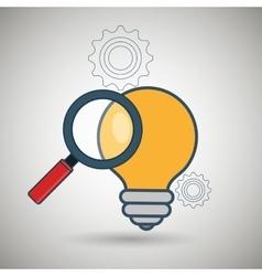 search idea creative icon vector image