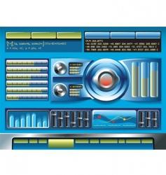 Software interface vector