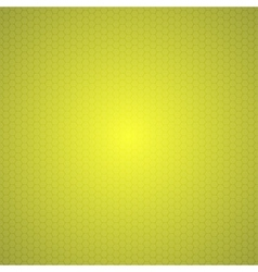 Yellow Mosaic Tile Honeycomb Background vector image