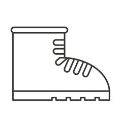 Boots construction special icon vector