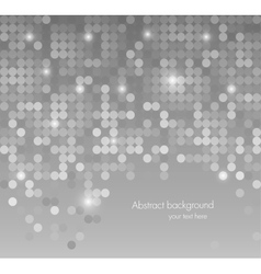 Abstract background with dots vector