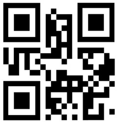 Qr code says best choice vector
