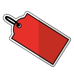 price tag icon vector image vector image