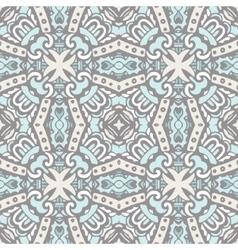 Seamless tiled damask design vector image vector image