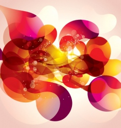 Psychedelic abstract vector