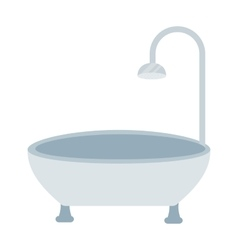 Bath isolated vector