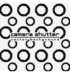 Camera shutter background vector