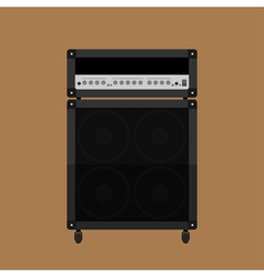 Guitar amplifier 2 vector image