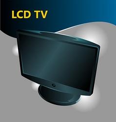 Lcd tv vector