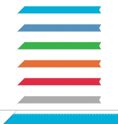 Side clean banners set vector image