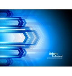 Bright background in blue color vector image