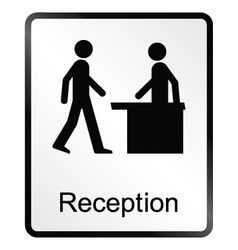 Reception information sign vector