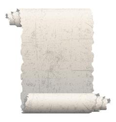 vintage scroll vector image