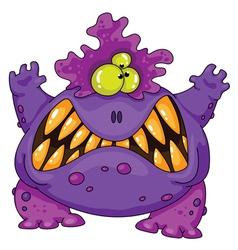 Terrible monster vector