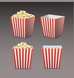 bag of popcorn vector image