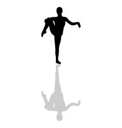Ballerina icon vector