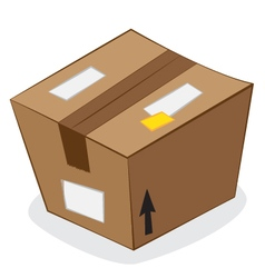 Carton package vector