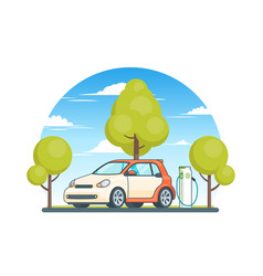 Clean energy ecological concept vector