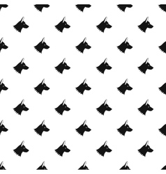 Collie dog pattern simple style vector image vector image