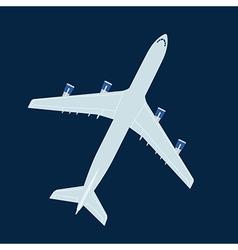 Jet liner vector