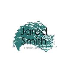 Makeup Artist design logo template vector image