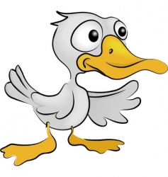 duck illustration vector image