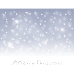 Winter snowfall vector