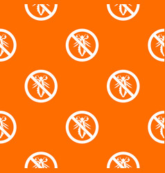 No louse sign pattern seamless vector
