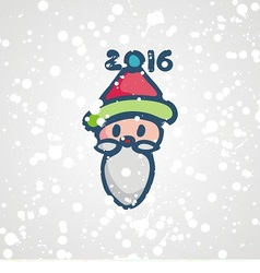 postcard for new yea vector image