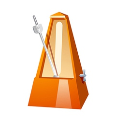 Icon metronome vector